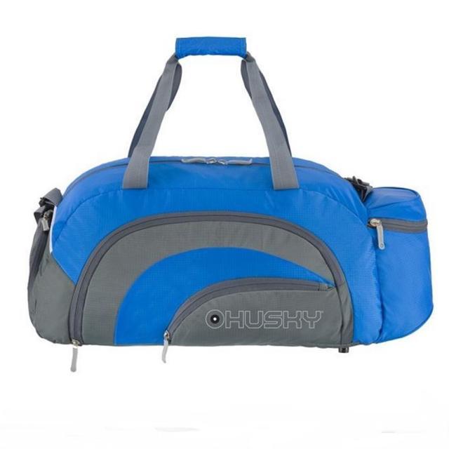 Сумка Husky Glade 38Комфортная и практичная спортивная сумка Glade 38. Водонепроницаемая ткань. Карман для обуви с вентиляцией. Три наружных кармана. Внутренний органайзер. Съемный наплечный ремень.<br>