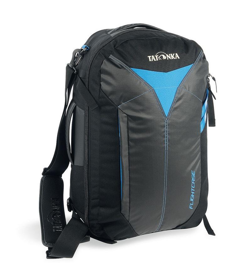 Сумка-рюкзак Tatonka Flightcase blackДорожная сумка для авиаперелетов. Соответствует требованиям ЕС к размерам ручной клади в самолетах. Переносить можно за ручку, на плече и как рюкзак.<br><br>Вес кг: 1.35000000
