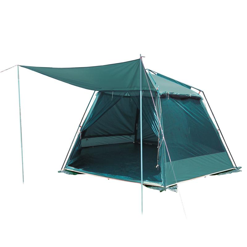 Тент-шатер Tramp Mosquito Lux GreenПалатка-шатер с двумя входами. Ткань палатки устойчива к ультрафиолетовому излучению. Ткань палатки имеет пропитку, задерживающую распространение огня. Тент оборудован юбкой. Удобные большие размеры<br><br>Палатки этой серии рассчитаны на семейный отдых, отдых большой компанией. Высокие, просторные, с тамбуром и несколькими отделениями, оборудованные москитными сетками и большими, надежные – это лучшее, что можно предложить любителям кемпинга.<br><br>Вес кг: 14.00000000