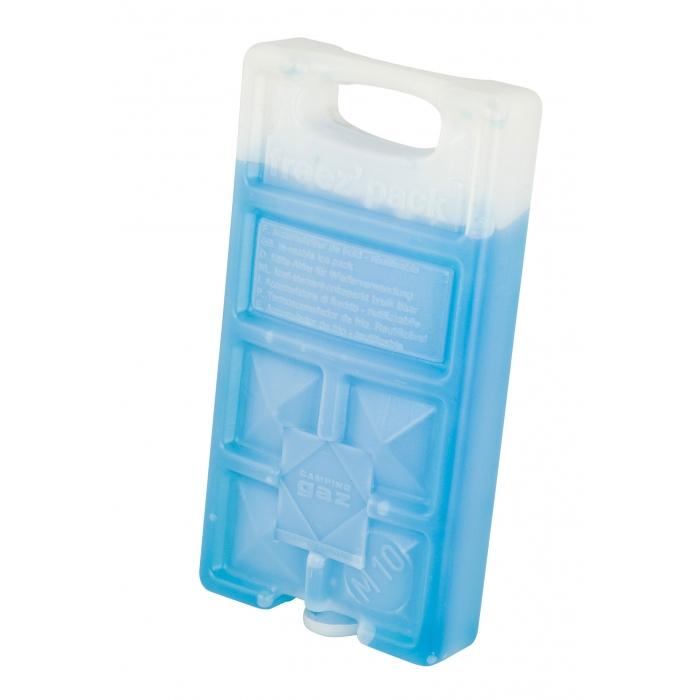 Аккумулятор холода Campingaz FreezPack M10 IceЗаменитель льда малого размера, для пищевых продуктов, нетоксичное наполнение, многоразового использования, можно хранить в морозильнике, без ограничения срока годности. Вес: 300 гр.<br><br>Вес кг: 0.30000000