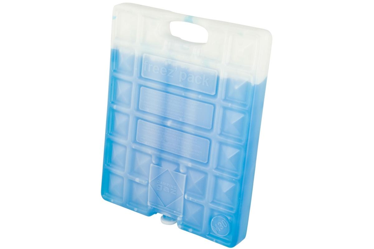 Аккумуляторы холода Campingaz FreezPack M30 IceЗаменитель льда малого размера, для пищевых продуктов, нетоксичное наполнение, многоразового использования, можно хранить в морозильнике, без ограничения срока годности. Вес: 900 гр.<br><br>Вес кг: 0.90000000