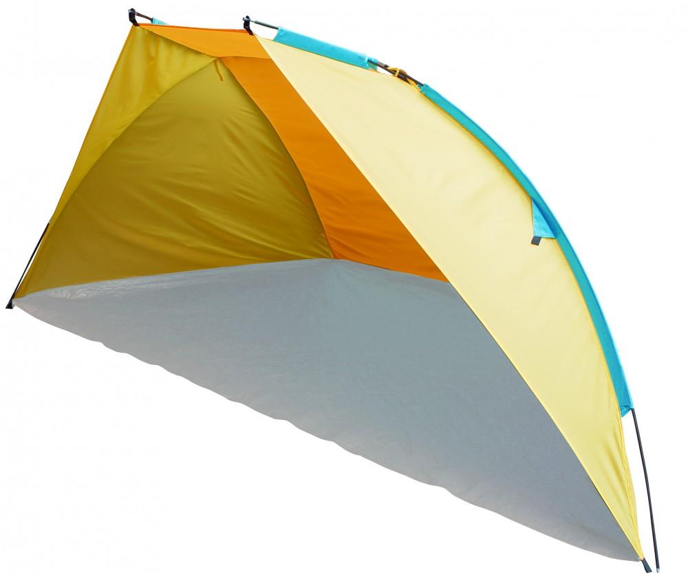 Тент Trek Planet Caribbean Beach/GoGarden Tenerife Beach желтый/оранжевый, пляжныйПляжный тент Carribean Beach, обеспечивает защиту от солнца, ветра и даже легких осадков - особенно полезен для очень маленьких детей. Очень прост в установке, имеет малый вес и удобный чехол с ручкой для переноски.<br><br><br>Простая и быстрая установка,<br><br>Каркас выполнен из прочного стекловолокна,<br><br>Дно изготовлено из прочного армированного полиэтилена,<br><br>Утяжеляющий карман для песка для устойчивости тента,<br><br>Растяжки и колышки в комплекте<br><br>Вес кг: 1.40000000