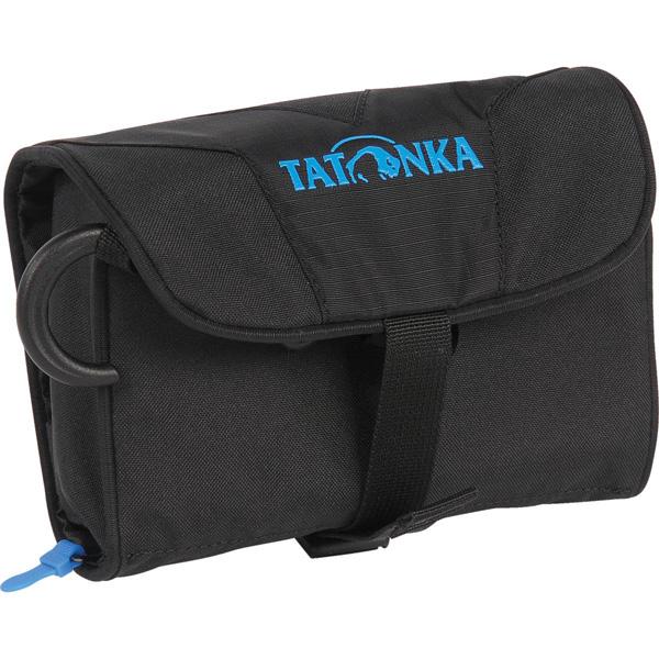 Косметичка Tatonka Mini Travelcare blackРаскладная мини косметичка для походов и путешествий. Идеальная организация внутреннего пространства позволяет разместить все необходимое.<br>