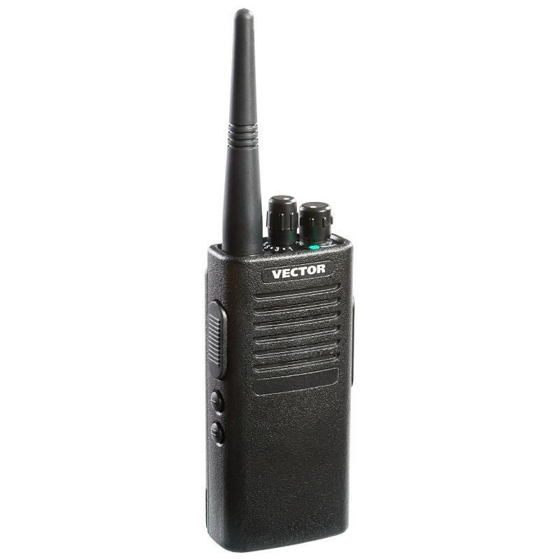 Радиостанция Vector VT-50 MTRVT-50 MTR Vector - это новая портативная рация LPD/PMR диапазона. Отличительная черта данной модели простота в управлении и механическая прочность. Разработана в соответствии с требованиями охранных структур. Данная радиостанция принадлежит уже полюбившемуся и зарекомендовавшему себя с лучшей стороны бренду Vector. Особенности радиостанции Vector VT-50 MTR:<br><br><br>LPD: 433,075-434,755 МГц<br><br>PMR: 446,00625-446,09375 МГц<br><br>Количество каналов: 16<br><br>Имеет защиту от влаги и пыли<br><br>Встроенный CTCSS/DCS кодер/декодер<br><br>Конструкция корпуса снабжена резиновыми уплотнителями<br><br>Алюминиевое шасси и ударопрочный корпус обеспечивают повышенную механическую прочность<br><br>Возможность установки различных каналов на прием и передачу<br><br>VOX (активация передачи голосом)<br><br>Комплектуется Li-ion АКБ высокой емкости 2300 мАч<br><br>Вес кг: 0.20000000