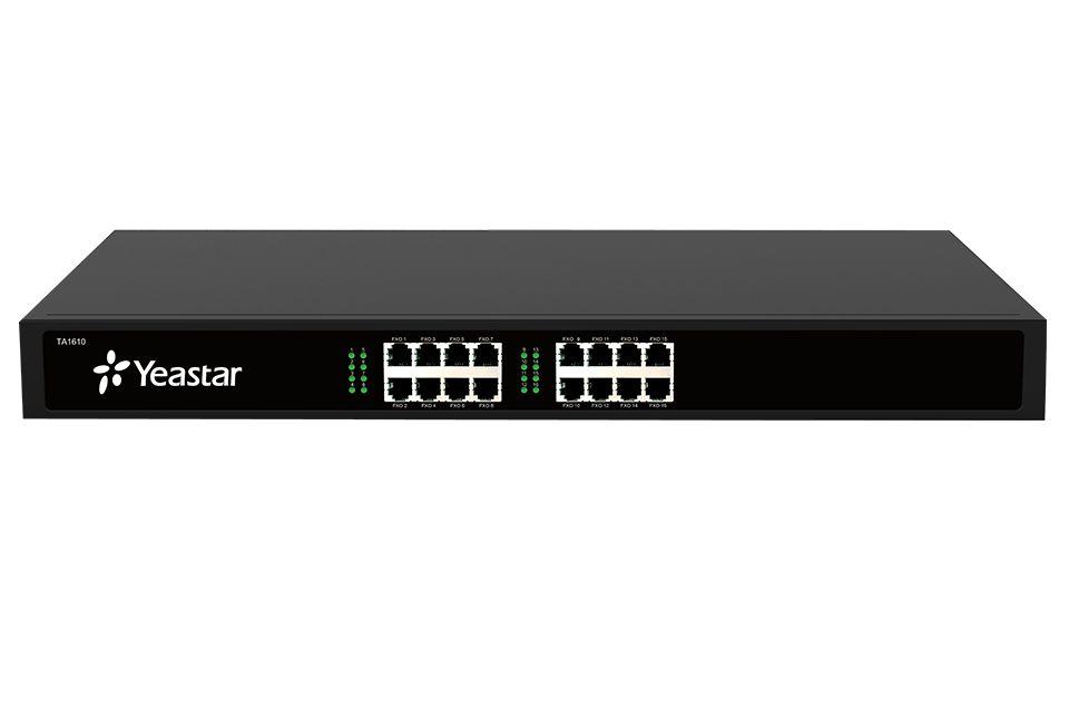 Шлюз Yeastar NeoGate TA1610Шлюз NeoGate TA1610 - это VoIP-шлюз на 16 портов FXO для подключения аналоговых телефонов. Neogate TA1610 отличается богатым функционалом и простотой конфигурирования, идеален для малых и средних предприятий, которые хотят объединить традиционную телефонную сеть компании с телефонной сетью на базе IP. NeoGate TA1610 помогает сохранить предыдущие инвестиции и уменьшить затраты на коммуникации.<br>