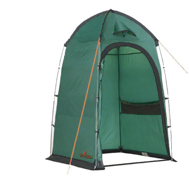 Палатка Totem Privat для душа или туалетаСпециальная палатка высотой 2,25 м для организации походного туалета/душа. Оборудована вентиляционным окном в куполе, имеются два сетчатых кармана. Съемный пол из терпаулинга. Чехол-сумка для хранения и переноски в комплекте.<br><br>Вес кг: 3.10000000