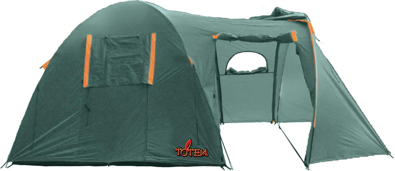 Палатка Totem Catawba кемпинговаяПалатка Totem Catawba кемпинговая<br><br><br>Двухслойная кемпинговая палатка с двумя входами и большим тамбуром<br><br>Вход спального отделения продублирован москитной сеткой<br><br>Большое спальное отделение<br><br>Два больших вентиляционных окна<br><br>Все швы проклеены<br><br>Вес кг: 7.20000000
