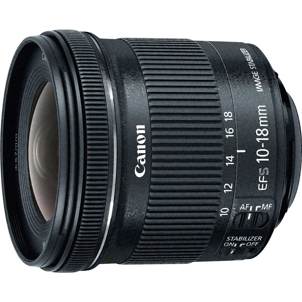 Объектив Canon EF-S 10-18mm f/4.5-5.6 IS STMСистема оптической стабилизации изображения, эквивалентная четырём ступеням экспозиции, обеспечит неизменную резкость фотографий и видео при съемке с рук, а технология Canon STM гарантирует эффективную автофокусировку при фотографировании и практически бесшумную работу автофокуса в режиме видеосъемки. В сочетании с цифровыми зеркальными камерами EOS, поддерживающими автофокусировку при записи видео, технология STM обеспечивает плавную непрерывную фокусировку — идеальное решение при отслеживании в кадре движущегося объекта — и плавный перевод фокуса с одного объекта на другой. Тихая фокусировка позволяет избежать нежелательных шумов при видеосъемке, благодаря чему звукозапись получается четкой и достоверной. Конструкция объектива EF-S 10–18mm f/4.5–5.6 IS STM включает оптический элемент из ультранизкодисперсионного стекла (UD) и различные оптимизированные покрытия линз, помогающие обеспечить великолепное качество изображения на всем диапазоне фокусных расстояний.<br><br>Вес кг: 0.30000000