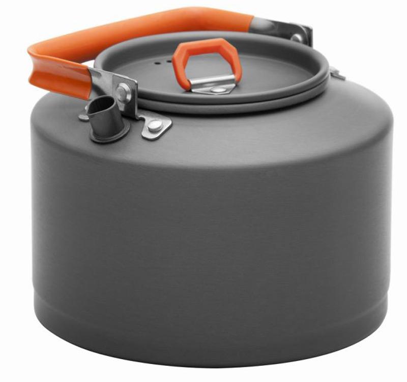 Чайник 1,5 л Fire-Maple Feast FMC-T4 походныйЯркий чайник интересного дизайна FEAST T4 сделан из анодированного алюминия. Ручка чайника и ручка крышки имеет термоизолирующие элементы для сохранения вашей безопасности от ожогов. Крышка чайника имеет пароотводящие отверстия. Носик чайника с направляющей выемкой, для точного наливания кипятка. Чайник весит лишь 236 г. Компактный, прочный, легко моется<br><br>Вес кг: 0.30000000