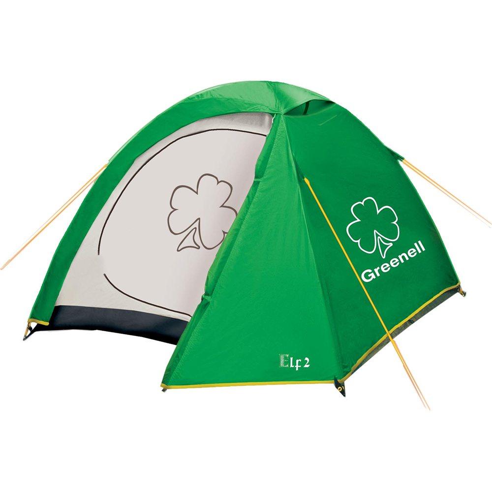 Палатка Greenell Эльф 2 v.3Отличная туристическая палатка Greenell Эльф 2 V3 оснащена одним входом и одним тамбуром, а также сеткой от москитов и прочих насекомых на входе. Новая верхняя ткань со специальной пропиткой защищает от ультрафиолета до 90% (UPF 50+) и предотвращает распространению огня. Внутренние карманы для размещения мелочей. Внутри палатки достаточно комфортно и имеются подвесная полка и петля для фонаря.<br><br>Вес кг: 3.20000000