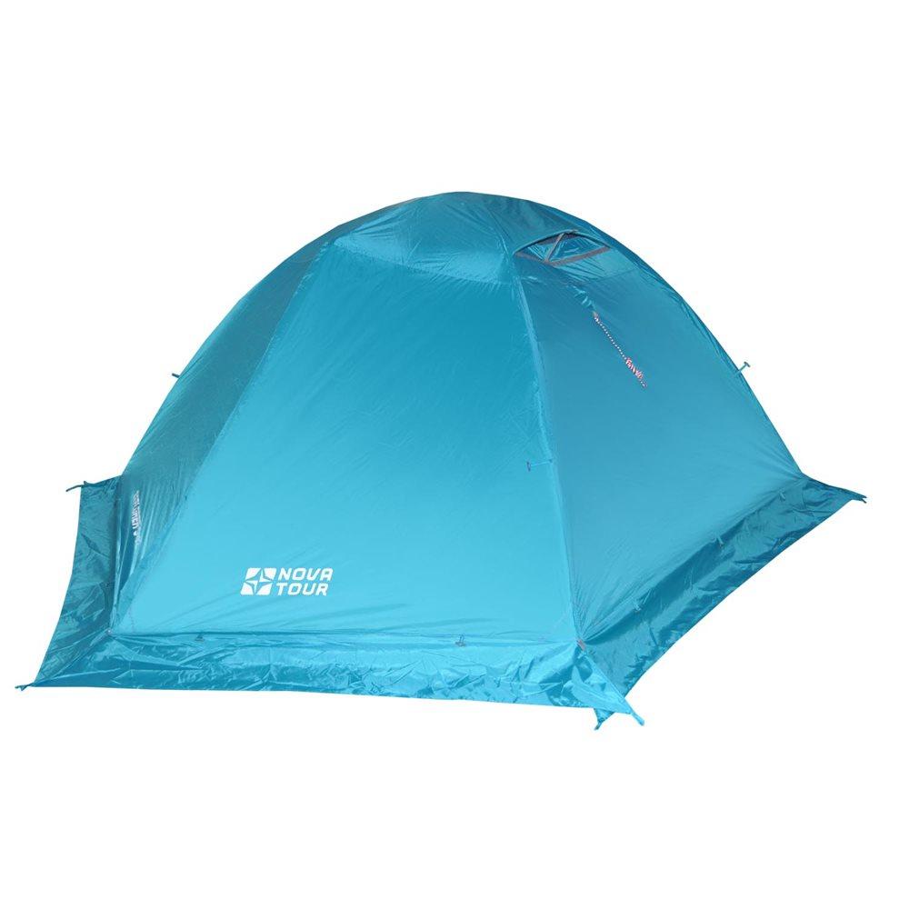 Палатка Nova Tour Эксплорер 3 v.2Классическая двухслойная палатка. Сочетает в себе удобство туристической и надежность горной модели. Обладает высокой ветроустойчивостью. Благодаря поперечной полудуге увеличен объем тамбуров. Внутренняя палатка может использоваться без тента. Отличия от первой версии: усовершенствованная система вентиляции, позволяющая открывать и закрывать вентиляционный клапан тента изнутри; удобный Q-образный вход, ветрозащитная юбка; оттяжки со светоотражающими нитями; гермочехол для хранения мокрого тента и внутренней палатки.<br><br>Отличия от первой версии. Усовершенствованная система вентиляции, позволяющая открывать и закрывать вентиляционный клапан тента изнутри. Удобный Q-образный вход, ветрозащитная юбка. Оттяжки со светоотражающими нитями. Гермочехол для хранения мокрого тента и внутренней палатки. В комплекте колышки из алюминия.<br><br>Вес кг: 3.60000000