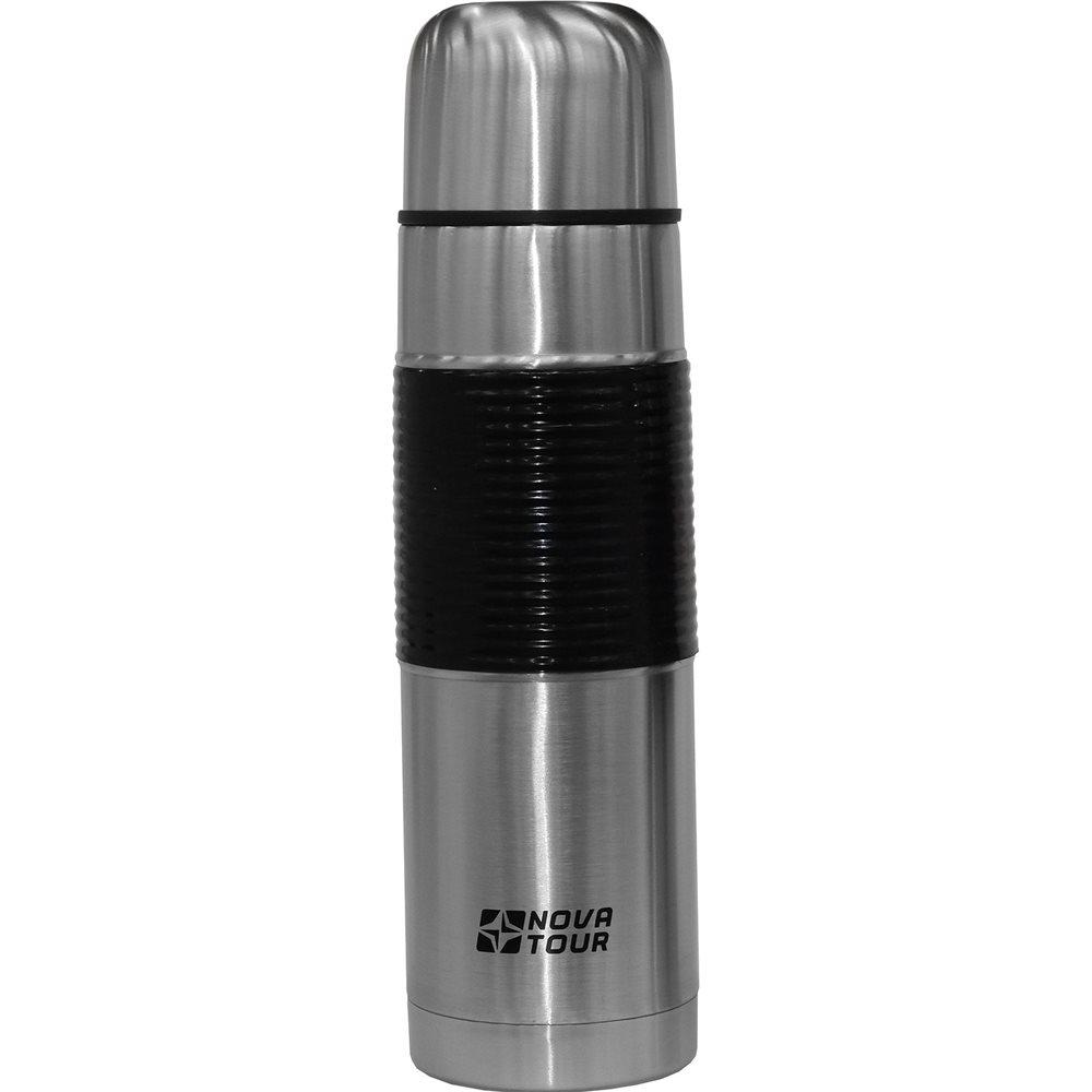 Термос Nova Tour Твист 1000Легкий и компактный. Пробка с кнопочным клапаном. Для удобства резиновая накладка Температурный режим: через 6 часов 80оС, через 12 часов 70оС, при начальной 95оС.<br><br>Вес кг: 0.70000000