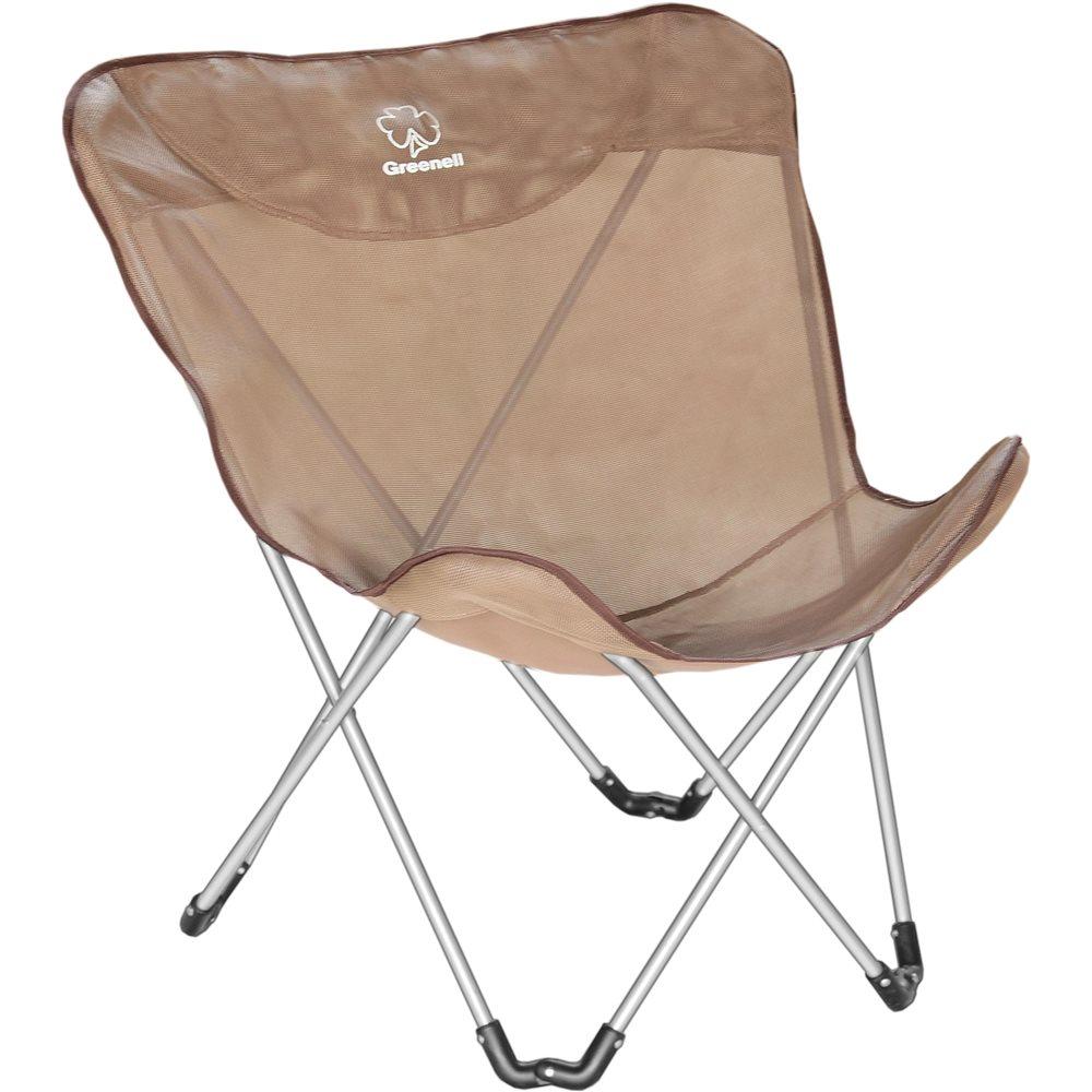 Кресло Greenell FC-14 складноеКомпактная универсальная модель кресла, быстро устанавливается, хорошо вентилируется. Модель комплектуется двумя вариантами сидений - из сетчатого полиэстера и из ткани полиэстер 600. Материалы устойчивые к ультрафиолету и быстро сохнут.<br><br>Вес кг: 3.00000000