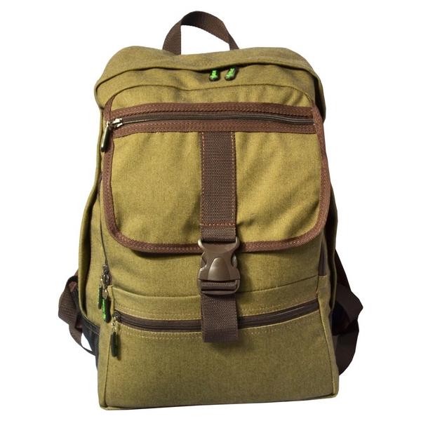 Рюкзак Prival Грот ХакиУдобный, практичный, стильный рюкзак-ранец Грот (Prival) городской серии с винтажным дизайном. Рюкзак предназначен для использования как в городской среде, так и на активном отдыхе.<br><br>При производстве используются качественные материалы: основная ткань - прочное палаточное полотно (100% хлопок); ткань дна - усиленная непромокающая кордура (100% нейлон). Рюкзак состоит из основного отделения с большим внутренним карманом на резинке. С фронтальной стороны рюкзака расположен вместительный карман-органайзер на молнии, в который можно разместить планшет, бумаги формата А4 или другие предметы, сверху карман-органайзер прикрывает карман на молнии, который надежно фиксируется при помощи вшитой стропы с пряжкой-фастексом. В кармане-органайзере внизу имеется дополнительный кармашек на молнии для мелочей. Мягкая анатомическая спинка с блоками Air Mesh повышают комфорт, вентиляцию и уменьшают нагрузки на спину при длительном ношении рюкзака.<br><br>Вес кг: 0.70000000