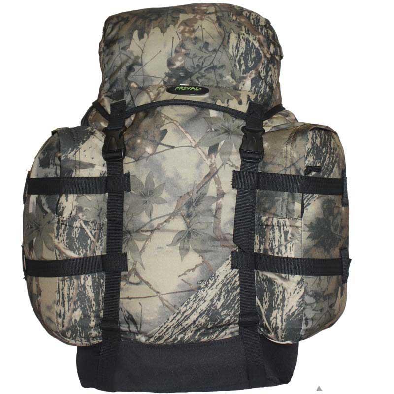 Рюкзак Prival Кузьмич 55 Камуфляж лесМногофункциональный легкий и компактный рюкзак Кузьмич-55 КМФ (Prival) с максимальной вместимостью 55 л. предназначен для туристов, охотников и рыболовов. Удобная формованная спинка делает его ношение удобным, а компактность и относительная простота обеспечивает хорошую мобильность. Материал ткани рюкзака не впитывает влагу, поэтому можно не бояться, что поклажа намокнет. По бокам Кузьмич-55 КМФ снабжён двумя большими наружными карманами с закрывающимися двухязычковыми молниями, обеспечивающими быстрый и удобный доступ к часто используемым предметам. Рюкзак имеет удобную массивную ручку для переноса и верхний плавающий карман - клапан для мелочей (также с двухязычковой молнией).<br><br>Вес кг: 0.70000000
