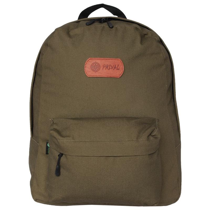 Рюкзак Prival Спутник 30 ХакиНебольшой, удобный, прочный рюкзак «СПУТНИК» с мягкой спинкой прекрасно подходит для любителей активного отдыха. Рюкзак выполнен из прочной ткани Oxford с водоотталкивающей пропиткой. Рюкзак состоит из одного отделения с большим внутренним карманом. С внешней стороны имеется вместительный карман.<br><br>Вес кг: 0.40000000