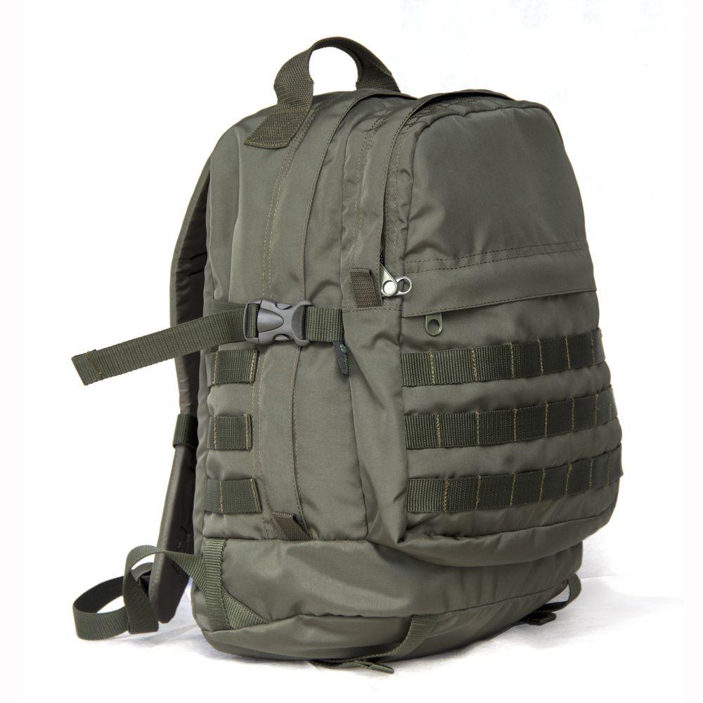 Рюкзак Prival Сталкер 50 Хаки, КД MolleУдобный и многофункциональный рюкзак Сталкер КД MOLLE (Prival) может использоваться как туристический, так и городской рюкзак. Вместительное основное отделение с большим раскрытием, позволяет удобно расположить боксы для снастей и приманок или снаряжение для одно-двухдневного похода. Помимо основного отделения, снаружи есть два дополнительных кармана на молнии.<br><br>Вес кг: 0.80000000