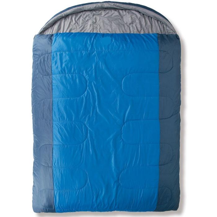 Спальный мешок Trek Planet Safari DoubleКомфортный, просторный и теплый двухместный спальник-одеяло с капюшоном TREK PLANET Safari Double. Идеально подойдет для тех, кто путешествует парой! Предназначен для походов и отдыха на природе в прохладные дни весенне-осеннего периода, когда возможны заморозки. Внутренняя ткань: мягкий полиэстер (Pongee). Оригинальный чехол.<br><br>Двойная ширина спальника,<br>4-канальный наполнитель Hollow Fiber,<br>Внешний материал: полиэстер,<br>Внутренняя ткань: мягкий полиэстер (Pongee),<br>Две двухсторонние молнии по бокам,<br>Термоклапан вдоль молнии,<br>Внутренний карман,<br>К спальнику прилагается удобный чехол с ручкой для хранения и переноски.<br><br>Вес кг: 3.30000000