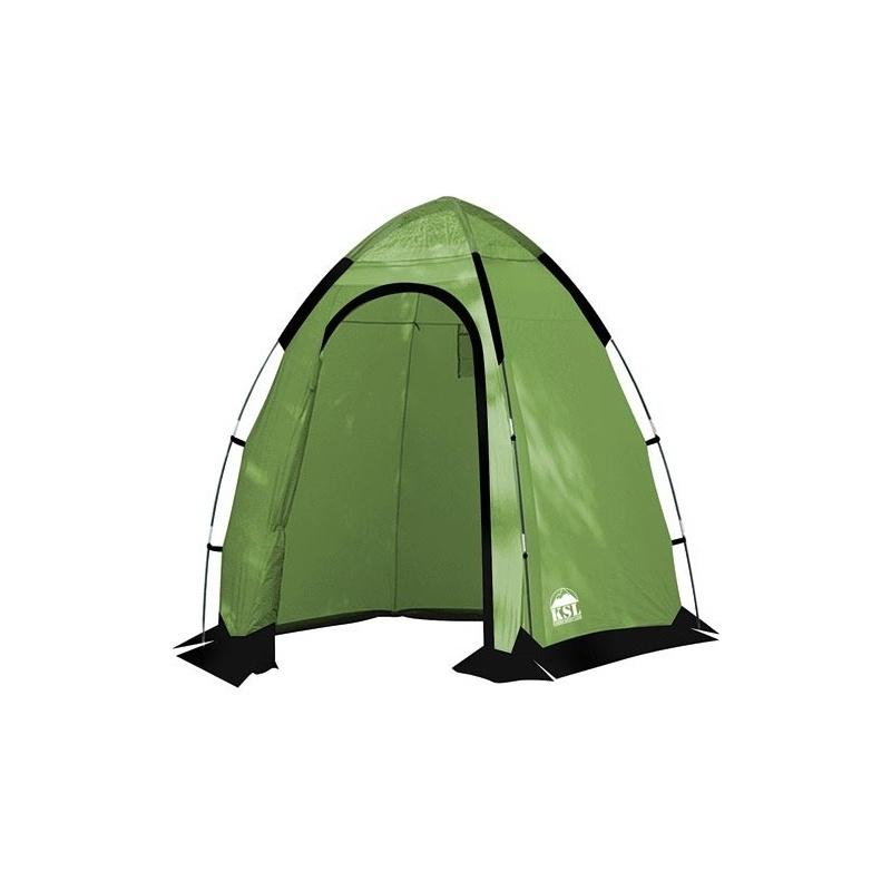 Палатка KSL Sanitary Zone Plus (зеленая) для душа и туалетаДля современных кемпингов палатка SANITARY ZONE PLUS – это дополнительный комфорт, который даже в природных условиях помогает заботиться о личной гигиене. Небольшие размеры и легкий вес позволяют применять эту палатку как в стационарных лагерях, так и в передвижных палаточных городках. Благодаря дополнительной герметизации швов термоусадочной лентой модель можно использовать не только как санитарное, но и как душевое помещение.<br><br>Из дополнительных удобств палатка SANITARY ZONE PLUS имеет вентиляционные окна, которые поддерживают внутри нее свежий воздух. И хотя данная палатка не имеет дна, от сквозняка она надежно защищена ветрозащитным пологом. Палатка изготовлена в соответствии со всеми современными стандартами. Ткань ее тента пропитана специальным составом, препятствующим распространение огня. Собираясь на природу на несколько дней или в продолжительный поход, обязательно возьмите с собой палатку SANITARY ZONE PLUS. Вес в 3 кг может нести даже ребенок, а вот комфорт от ее установки в лагере трудно переоценить. С этой палаткой отдых становится еще более приятным.<br><br>Вес кг: 3.00000000