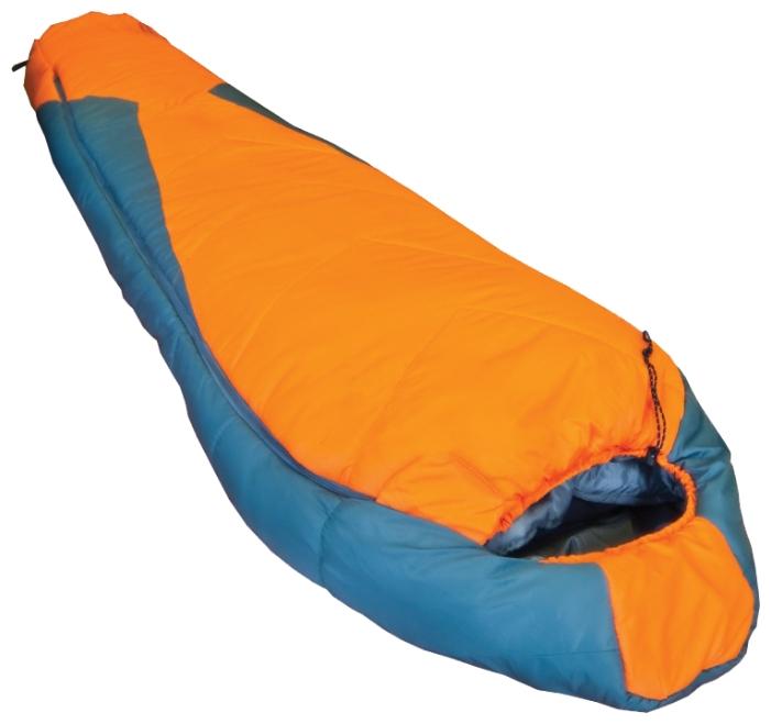 Спальный мешок Tramp Oimykonспальный мешок-кокон, экстремальный, температура комфорта от -15°С до 8°С, синтетический наполнитель (2 слоя), утепленная молния, вес 1.8 кг<br><br>Вес кг: 1.80000000