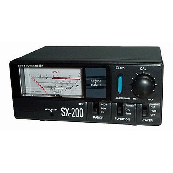 КСВ метр Vega SX-200КВС-метр Vega SX-200 - прибор для измерения входной мощности и КВС. Он имеет хорошую точность и оснащен индикатором подстветки. Прибор позволяет настроить антенну таким образом, чтобы добиться максимальной эффективности в работе. Vega SX-200 может быть установлен в автомобиль для постоянного мониторинга станции.<br><br>Вес кг: 0.70000000