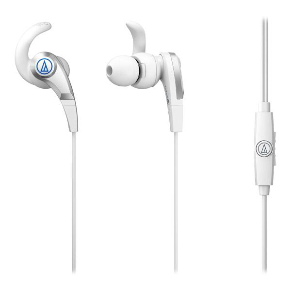 Наушники Audio-Technica ATH-CKX5iS Whiteвставные наушники (затычки) с микрофоном, поддержка iPhone, регулятор громкости, импеданс 16 Ом, чувствительность 100 дБ, диаметр мембраны 8 мм, разъём mini jack 3.5 mm<br><br>Вес г: 10.00000000