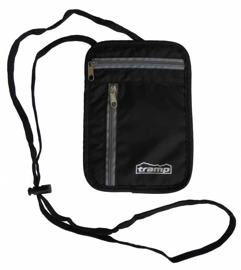 Кошелек Tramp TRP-015 нагрудный  малыйНашейный кошелек для самых необходимых документов. Удобно носить под одеждой.<br>