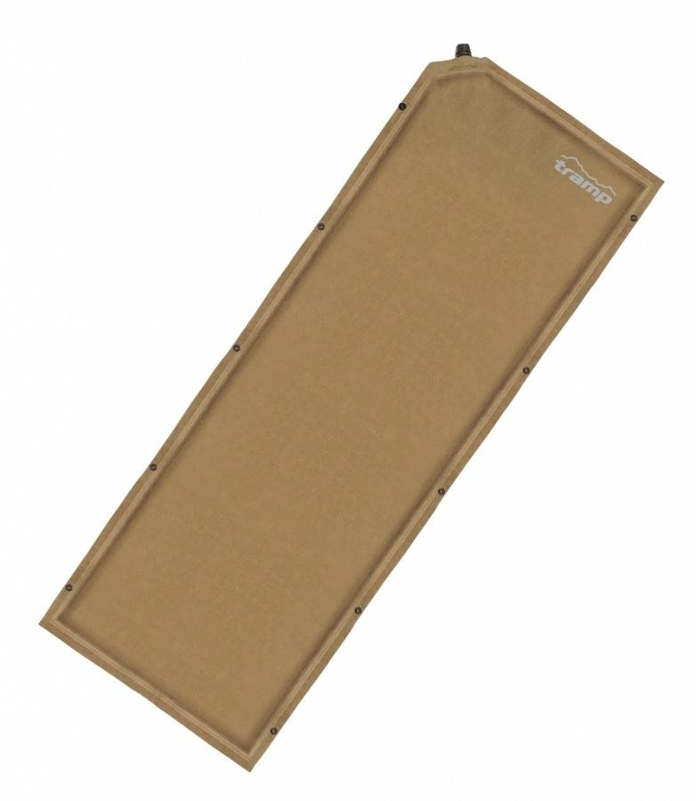 Ковер Tramp TRI-015 самонадувающийсяМатериал верхнего слоя ковров данной серии выполнен из тканой замши. Это не позволит спальнику сползать с ковра и обеспечит дополнительную мягкость, сохраняя тепло вашего тела. Структура низа ковра - SlidesLess (точечное гелеобразное нанесение) не даст ему скользить по дну палатки при расположении на наклонных поверхностях. Некоторыемодели оснащены вторым клапаном для сокращения времени самонадувания.<br><br>Вес кг: 1.50000000
