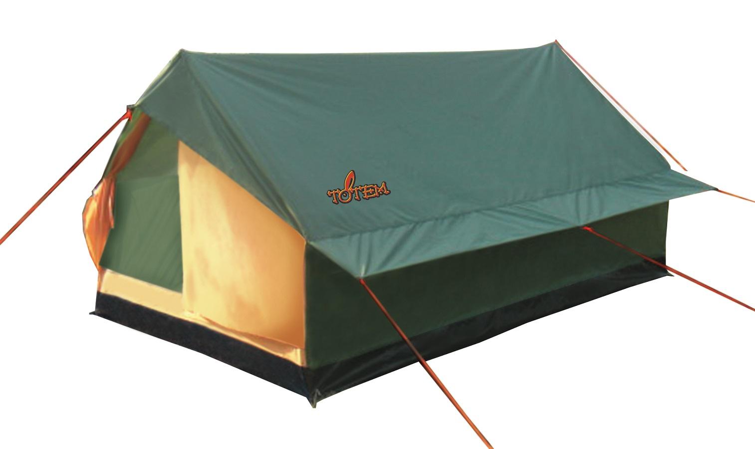 Палатка Totem Bluebird трекинговаятрекинговая палатка, 2-местная, однослойная, внутренний каркас, стальные дуги, один вход / одна комната, высокая водостойкость дна<br><br>Вес кг: 2.10000000