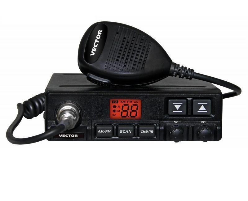 Радиостанция Vector VT-27 RADIUS Turbo АвтоVector VT-27 Radius Turbo - это CB радиостанция, имеет выходную мощность 18 Вт, двухразрядный светодиодный дисплей, предназначенный для индикации номера рабочего канала. От радиостанции Vector VT-27 Radius отличается увеличенной выходной мощностью до 18 Вт и наличием кнопок переключения каналов на тангенте.<br><br>В радиостанции VECTOR VT-27 Radius реализован Профессиональный режим работы с ячейками памяти ProMem ®! Вы можете запрограммировать до 10 каналов памяти, которые Вам необходимы для работы, переключиться в Профессиональный канальный режим и больше не беспокоиться о том, что Вы случайно можете затеряться в большом количестве частот и каналов и потерять своего абонента! Регулятор SQ позволяет обеспечить бесшумную работу радиостанции на прием при отсутствии полезного сигнала. В радиостанции VT-27 Radius реализовано 2 режима работы шумоподавителя: ручной (пороговый, по уровню фона радиоэфира) и автоматический (по спектру радиосигнала), настройки не требует.<br><br>Вес кг: 0.80000000