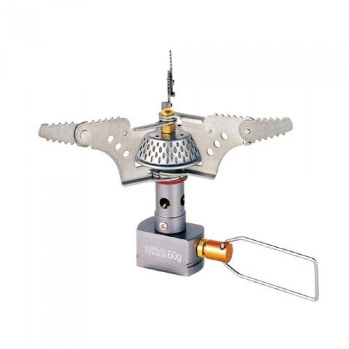 Горелка газовая Kovea KB-0707 титановаяГазовая горелка Kovea KB-0707 Supalite Titanium Stove массой всего 60 г. – лучший мировой показатель по весу для газовых горелок этого класса. Применение титана и легкого алюминиевого сплава обеспечивает горелке легкость, высокую надежность и антикоррозионные свойства. Она работает от газового баллона резьбового стандарта, но возможно и подсоединение к цанговому газовому баллону при помощи адаптера со шлангом Cobra.<br><br>Вес кг: 0.07000000