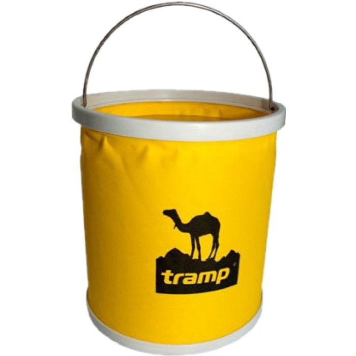 Ведро Tramp TRC-060 складное 11лВедро Tramp TRC-060 складывается и занимает очень мало места при транспортировке.<br><br>Вес кг: 0.50000000