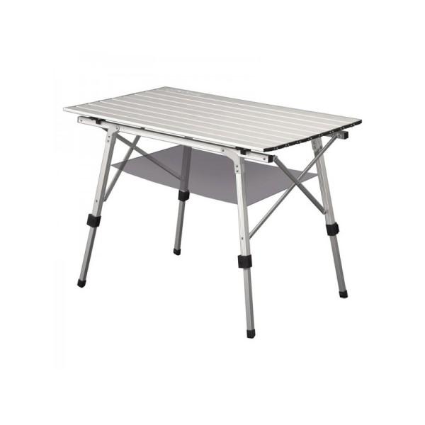 Стол Greenell FT-4 V2Стол кемпинговый Greenell FT-4 V2 создаст комфортные условия для отдыха на природе! Конструкция стола ( с телескопическим ножкам) позволяет использовать его на любом рельефе, а также регулировать по высоте. В комплект входит специальная подвесная полка из сетки для хранения мелочей или продуктов.<br><br>Вес кг: 30.00000000