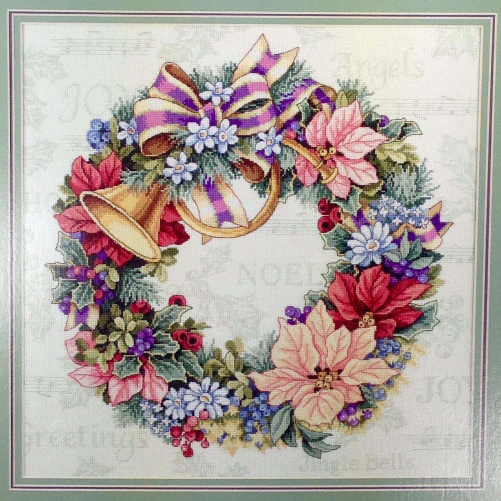 Dimensions Holiday Harmony Wreath (Венок Праздник гармонии).8662 СШАНабор для вышивания Dimensions 8662 Holiday Harmony Wreath (Венок Праздник гармонии)<br>