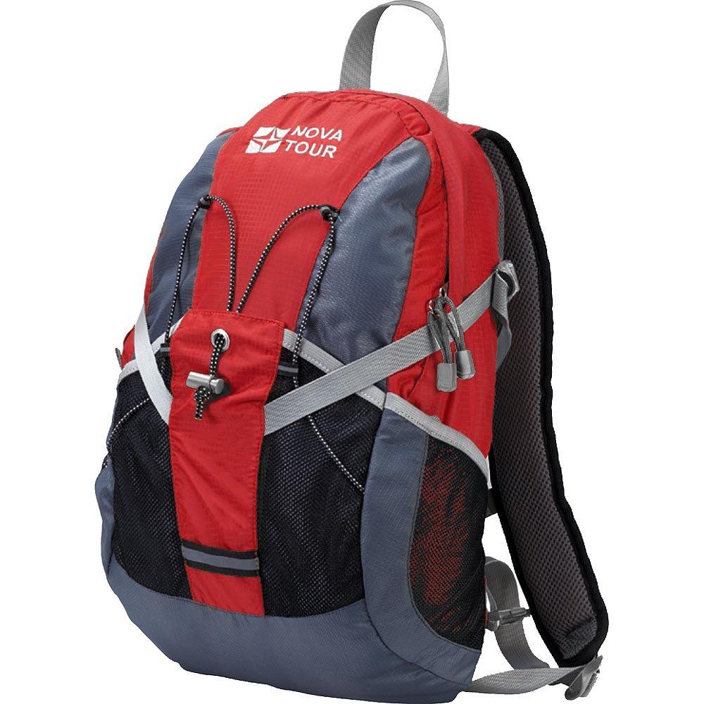 Рюкзак Nova Tour Вижн 20 серый/красныйПолужесткие вставки в спине рюкзака, крепление для шлема, отделение для гидратора, боковые карманы из сетки – специально для подвижных людей<br><br>Вес кг: 0.80000000