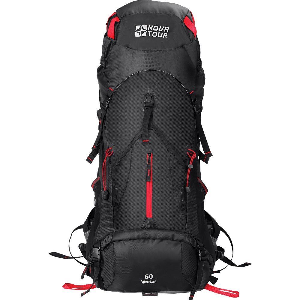 Рюкзак Nova Tour Блэк Хол 60 черныйЕсли Вы устали от обыкновенных рюкзаков и душа «просит праздника», то рюкзак Блэк Хол именно то, что нужно. Рюкзак будет составлять с вами единое целое, ведь его подвесная система имеет увеличенные по ширине лямки и точно настраиваемый под строение тела облегченный 3D пояс. Есть желание достать что-либо в рюкзаке не расстегивая верхний клапан? Пожалуйста! Удобный нижний и боковой вход помогут в этом. Нужно чтото снять или наоборот одеть? Любую потребовавшуюся в переходе одежду можно хранить в специальном закрывающемся кармане на фасаде рюкзака. Всех любителей ходить с треккинговыми палками несомненно порадует наличие крепления и для этого инвентаря.<br><br>Вес кг: 2.00000000