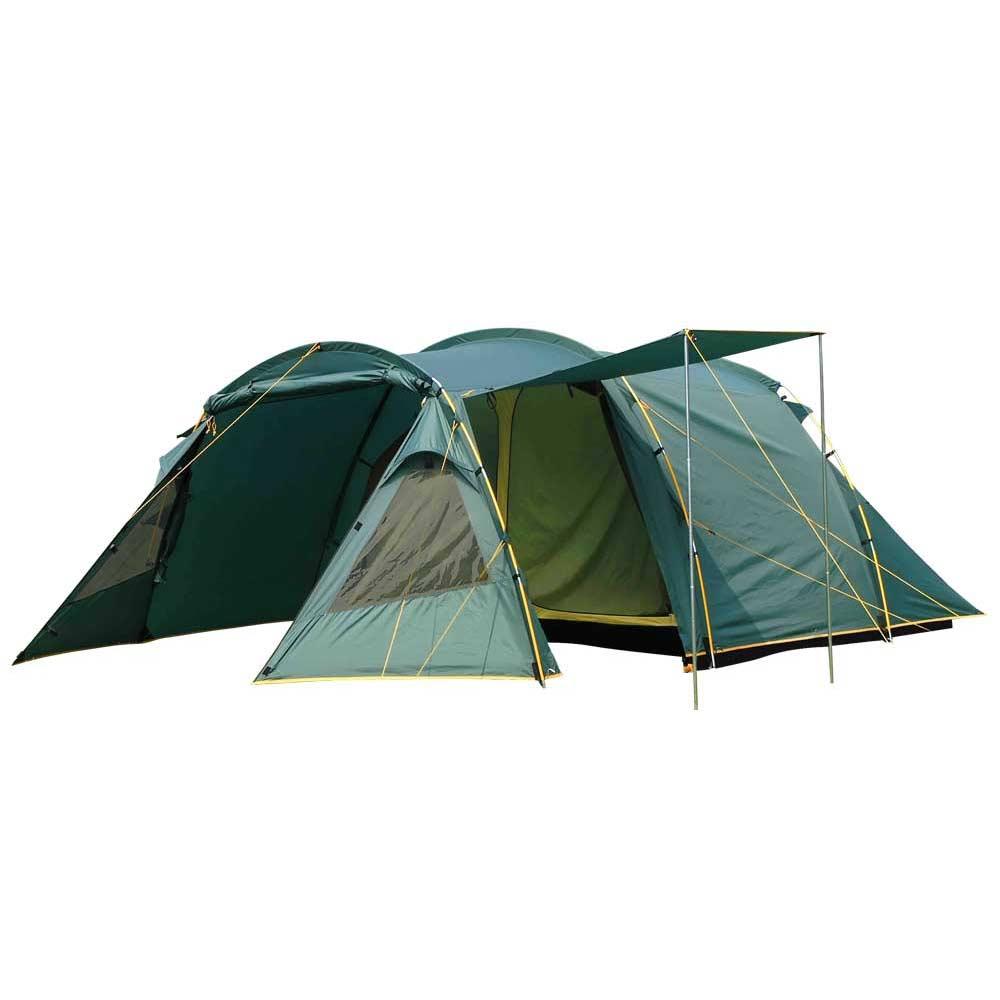 Палатка Greenell Oregon 4 кемпинговаяКемпинговая палатка Greenell Орегон 4 с большим тамбуром на два входа. Данная палатка занимает одну из ведущих позиций интернет-магазина палаток. Имеет большой тамбур и одно большое спальное отделение со съемной перегородкой. Прозрачные окна со шторкой. Над входом большой навес. Возможна отдельная установка тента. Проклеенные швы тента. Также имеются противомоскитная сетка и прозрачные окна.<br><br>Вес кг: 10.20000000