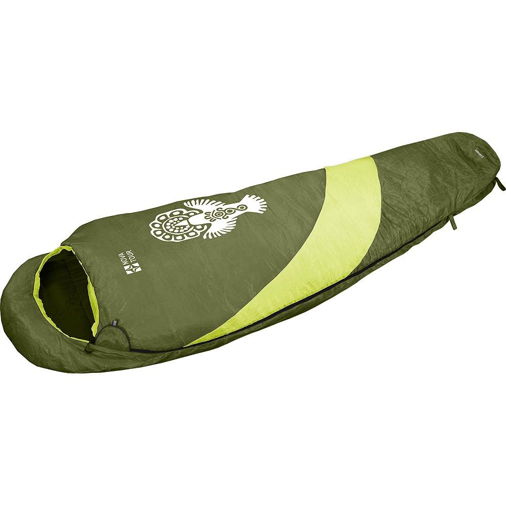 """Спальный мешок Nova Tour КрымОсновное отличие летнего спальника от зимнего это тонкий слой утеплителя. В данном случае это HollowFiber. Тот самый, который полиэстровый, гипоаллергенный, хорошо переносит влажные условия и быстро сохнет. Для того, чтобы обеспечить «быстро сохнет» вшиты удобные петли, позволяющие развешивать спальник в открытом состоянии на дереве или палатке. В компрессионнике летний спальник """"Крым"""" компактен: 20см*12см*12см, вес всего 0,9кг, а значит, для него найдется место даже в малолитражном рюкзаке.<br><br>Вес кг: 1.00000000"""