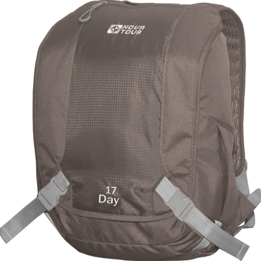 Рюкзак Nova Tour Дэй 17 коричневыйРюкзак классического стиля. В нем есть весь необходимый функционал, чтобы чувствовать себя комфортно в городском ритме жизни. Отделение под ноутбук, органайзер, карман для очков, карабин для ключей<br><br>Вес кг: 0.70000000