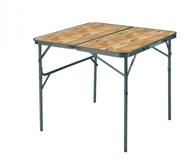 Стол Kovea Titan Slim 2 Folding Table KN8FN0107Складной 2-х секционный кемпинговый стол. Высокопрочный алюминиевый профиль холодного анодирования. конструкция slim (утонченный). Регулировка ножек по высоте, и их фиксация. Столешница из высококачественного пластика под дерево.<br><br>Вес кг: 5.00000000