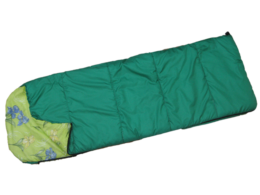 Спальный мешокТурлан СП-Ф-250Спальный мешок одеяло с подголовником, для походов и ночлега в кемпине в условиях около нулевой температуры. Утеплитель — Файбертэк. Укомплектован компрессионным мешком.<br><br>Вес кг: 1.80000000