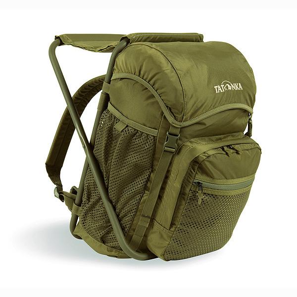 Рюкзак-стул Tatonka Fischerstuhl cubУдобный и лёгкий рюкзак со стулом Tatonka Fischerstuhl. Стул удобно ставить даже на неровных поверхностях. В большом переднем кармане можно хранить наживку, лески, крючки, и другие нужные предметы рыболовства.<br><br>Основное отделение со шнуровкой дополнительно может запираться. Боковые карманы. Передний объемный карман с отделением и накладным карманом.<br><br>Вес кг: 1.12000000