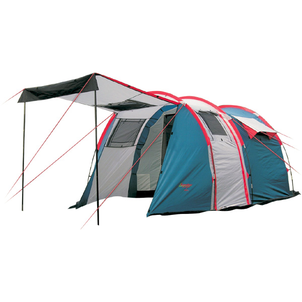 Палатка Canadian Camper TANGA 5 Royal кемпинговаякемпинговая палатка, 5-местная, внешний каркас, дуги из стеклопластика, 3 входа / 2 комнаты, высокая водостойкость, вес: 11.4 кг<br><br>Вес кг: 11.50000000
