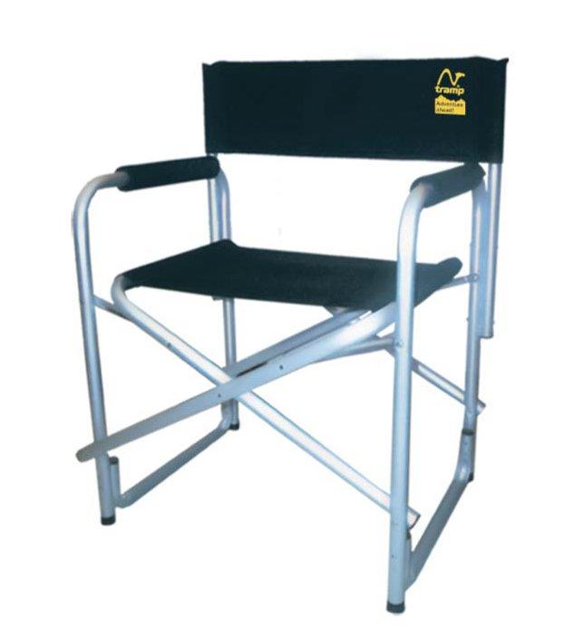 Стул Tramp TRF-001Директорский стул Tramp TRF-001 - самая популярная модель стульев. Благодаря простоте строения и надежности каркаса, модель завоевала популярность у любителей кемпинга. Рама выполнена из алюминиевых труб диаметром 25 мм, что придает легкость стулу.<br><br>Вес кг: 3.50000000