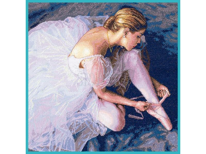 Dimensions Ballerina Beauty (Красивая балерина). Китай.35181Набор для вышивания Dimensions 35181 Ballerina Beauty (Красивая балерина)<br>