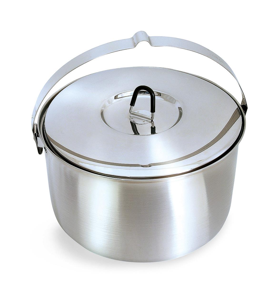 Котелок Tatonka Family Pot 6,0LВместительный котелок для большой компании. Крышка котелка имеет ненагревающуюся ручку.<br><br>Вес кг: 0.90000000