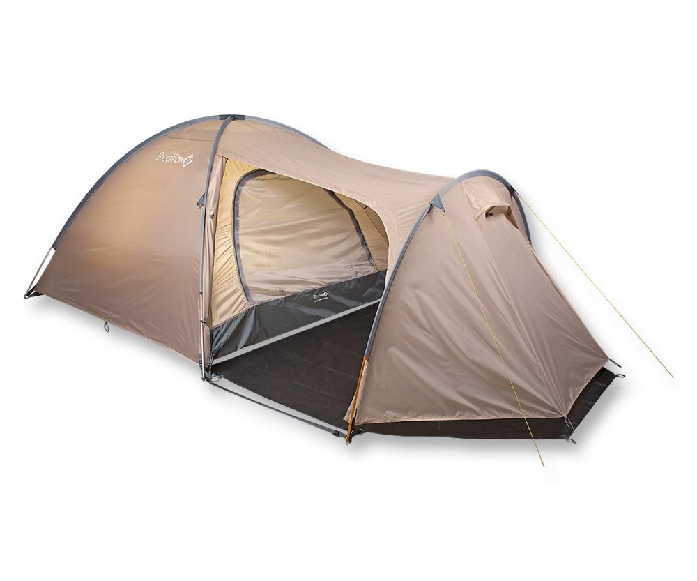 Палатка RedFox Challenger 4 ComboБольшая палатка для комфортного отдыха. 2 входа, 2 тамбура, один из которых особенно большого размера. Одновременно устанавливаются внутренняя палатка и тент. Закрывающиеся вентиляционные окна. Противомоскитные сетки на входах внутренней палатки. Все швы проклеены. Наличие штормовых оттяжек. Удобные внутренние карманы для вещей первой необходимости. Полиуретановое покрытие ткани, нанесенное на внутреннюю сторону, для водонепроницаемости. Увеличенный тамбур.<br><br>Вес кг: 5.90000000