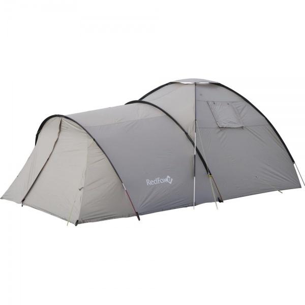 Палатка RedFox Wig Wam V3Большая палатка с огромным тамбуром, в котором можно с удобством расположиться всем. Вентиляционные окна. Карманы для вещей первой необходимости. 2 входа, 2 тамбура. Противомоскитные сетки на входах внутренней палатки. Все швы проклеены. Удобные внутренние карманы для вещей первой необходимости. Полиуретановое покрытие ткани, нанесенное на внутреннюю сторону, для водонепроницаемости.<br><br>Вес кг: 9.25000000