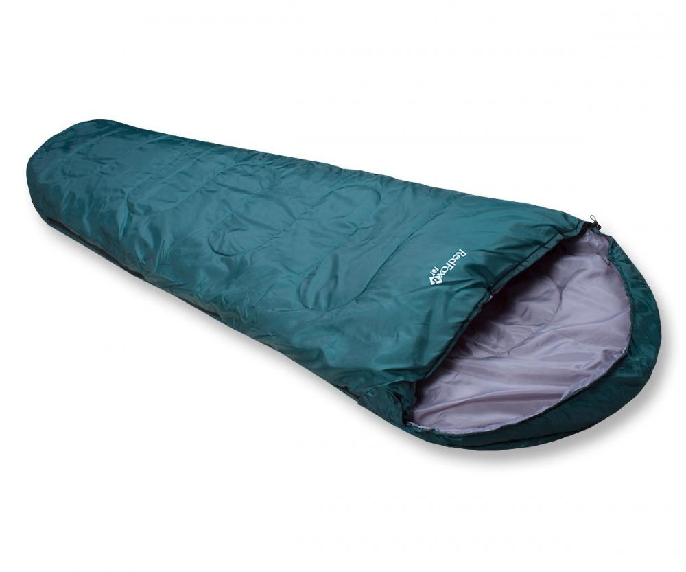 Спальный мешок RedFox F&amp;TЛегкий спальный мешок для походов и экспедиций. Анатомическая форма спальника. Анатомический капюшон регулируется по объему шнуром с фиксаторами. Защитный внутренний клапан, расположенный по всей длине молнии, обеспечивает дополнительную защиту от холода. Правая и левая молнии позволяют состегивать между собой два спальника. Разъемные двухзамковые молнии для регуляции воздухообмена и удобства состегивания. Специальная защитная лента, предохраняющая ткань от попадания в молнию. Низ молнии защищен дополнительным внутренним маленьким поперечным клапаном. Фиксация замка молнии клапаном с застежкой Velcro. Специальные петли для хранения и подвешивания спальника, позволяющие легко его просушить. Спальник упаковывается в легкий и прочный мешок<br><br>Вес кг: 1.39000000