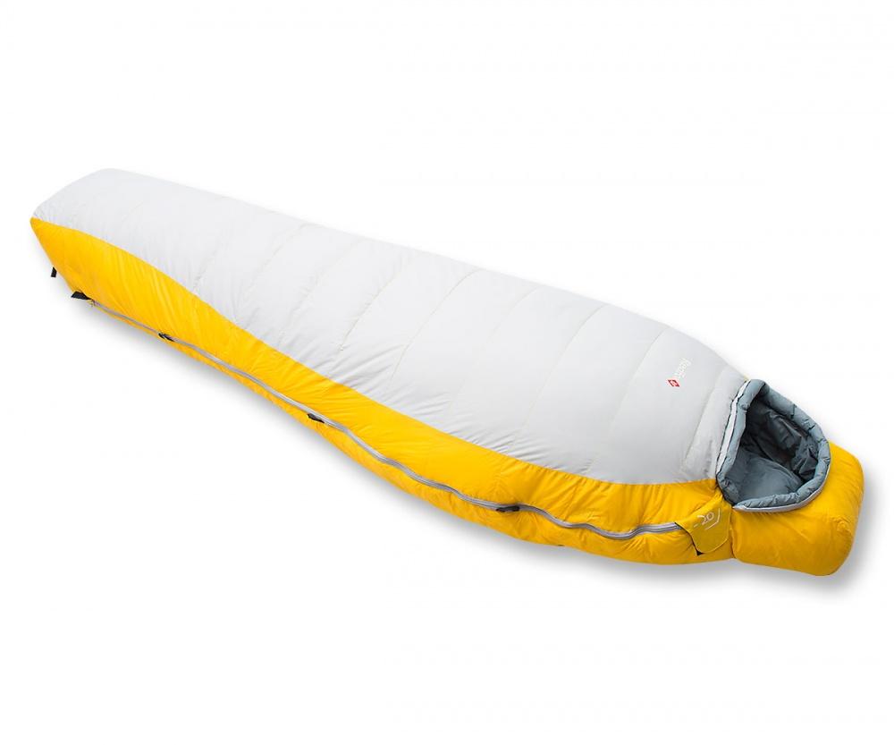 Спальный мешок RedFox Yeti-20 XLПуховый спальный мешок в форме кокона. Разъемная двухзамковая молния. Возможность состегивания<br><br>Вес кг: 1.40000000